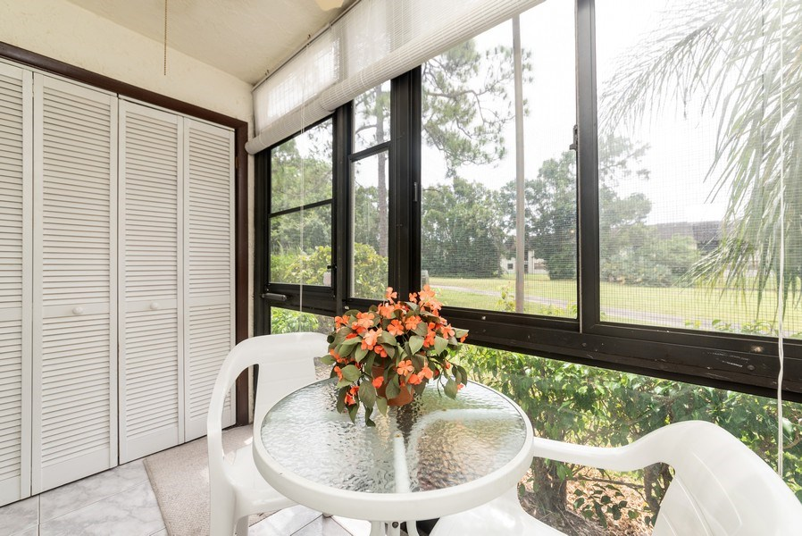 Real Estate Photography - 7190 Golf Colony Ct, 104, Lake Worth, FL, 33467 - Patio