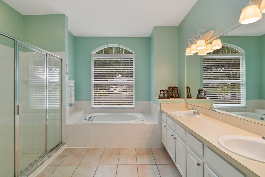 Real Estate Photography - 625 Lakeworth Cir, Lake Mary, FL, 32746 - Master Bathroom