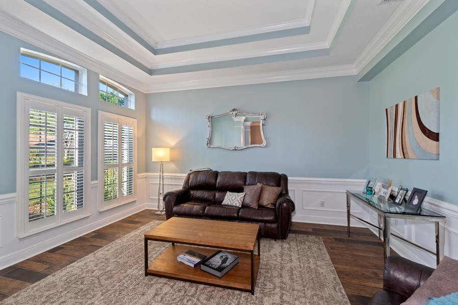 Real Estate Photography - 1068 Bloomsbury Run, Lake Mary, FL, 32746 - Living Room