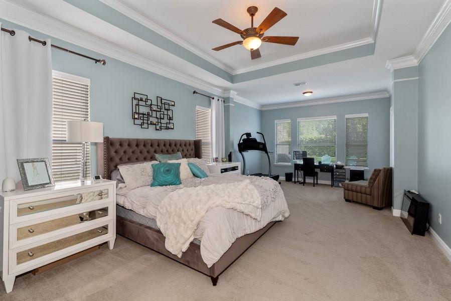 Real Estate Photography - 1068 Bloomsbury Run, Lake Mary, FL, 32746 - Master Bedroom