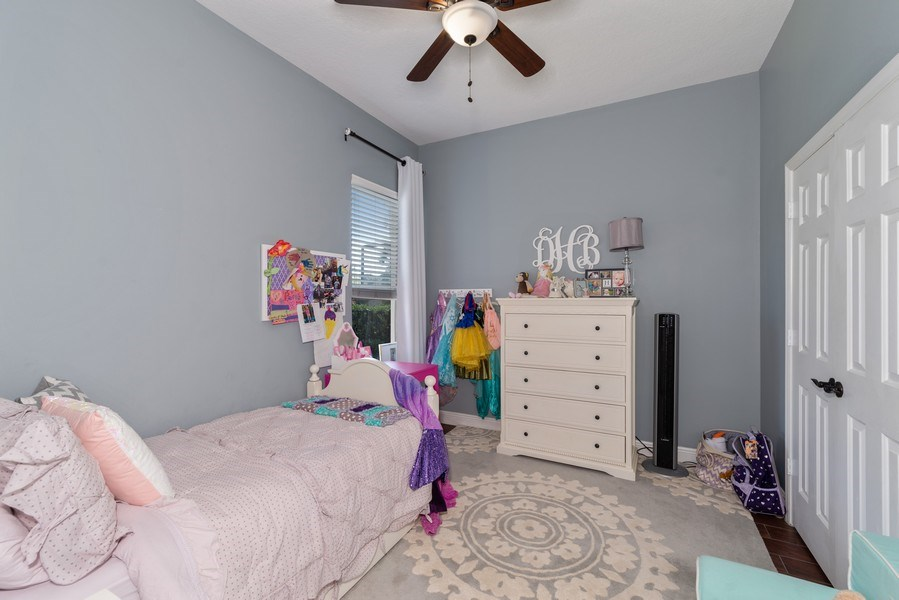 Real Estate Photography - 1068 Bloomsbury Run, Lake Mary, FL, 32746 - 4th Bedroom