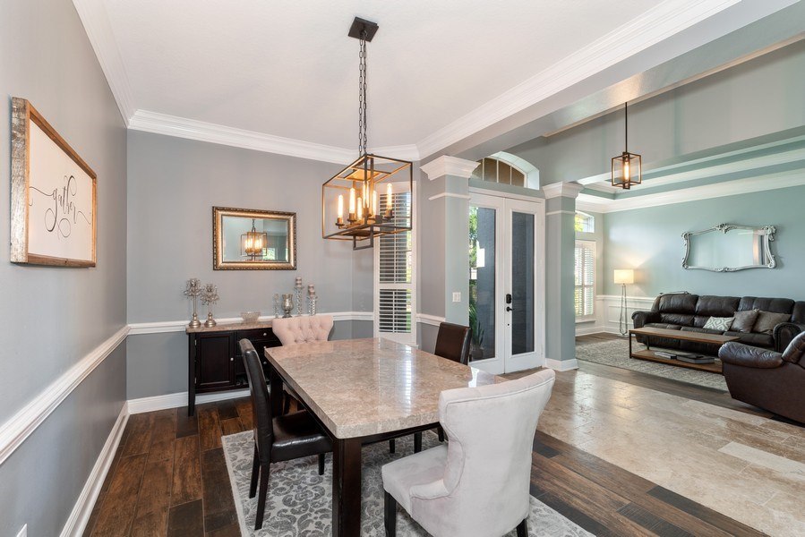 Real Estate Photography - 1068 Bloomsbury Run, Lake Mary, FL, 32746 - Dining Room