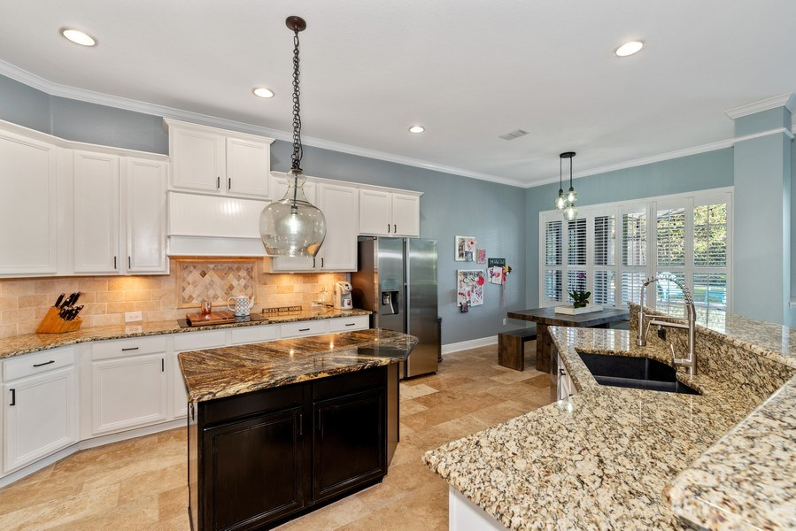 Real Estate Photography - 1068 Bloomsbury Run, Lake Mary, FL, 32746 - Kitchen