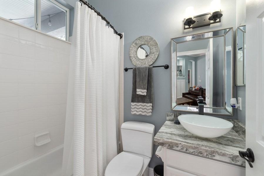 Real Estate Photography - 1068 Bloomsbury Run, Lake Mary, FL, 32746 - 2nd Bathroom