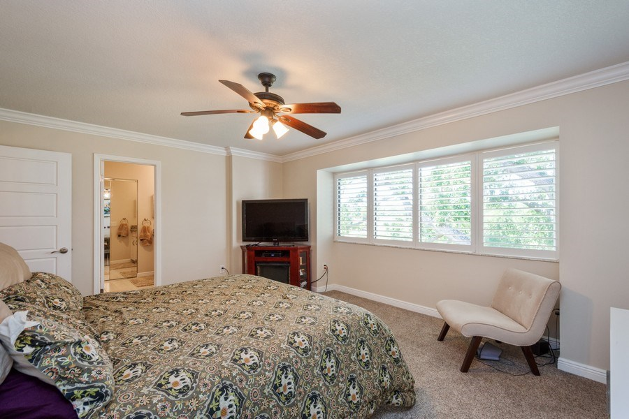 Real Estate Photography - 13914 Lake Point Dr, Clearwater, FL, 33762 - Master Bedroom