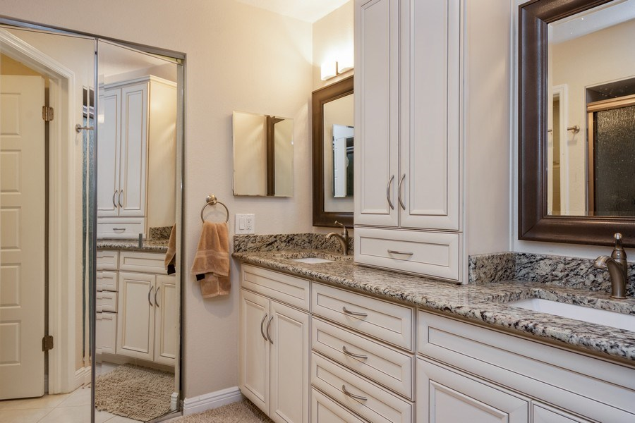 Real Estate Photography - 13914 Lake Point Dr, Clearwater, FL, 33762 - Master Bathroom