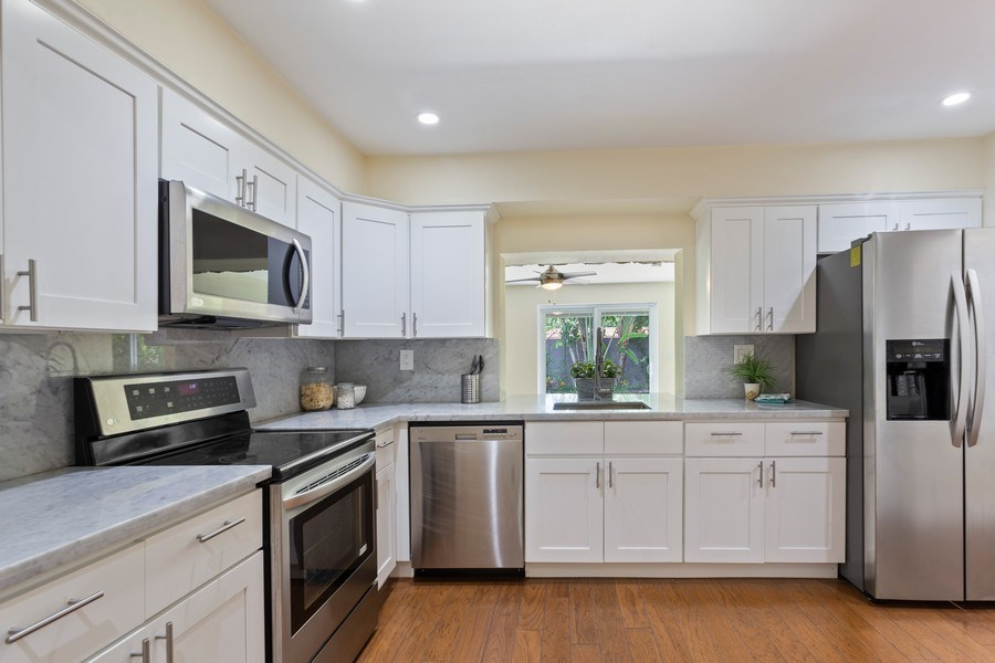 Real Estate Photography - 8600 SW 87th Ter, Miami, FL, 33143 - Kitchen