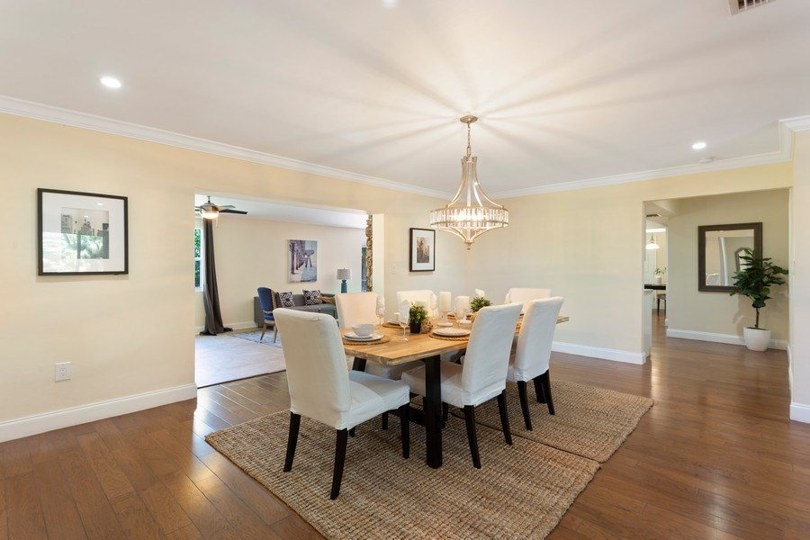 Real Estate Photography - 8600 SW 87th Ter, Miami, FL, 33143 - Dining Room
