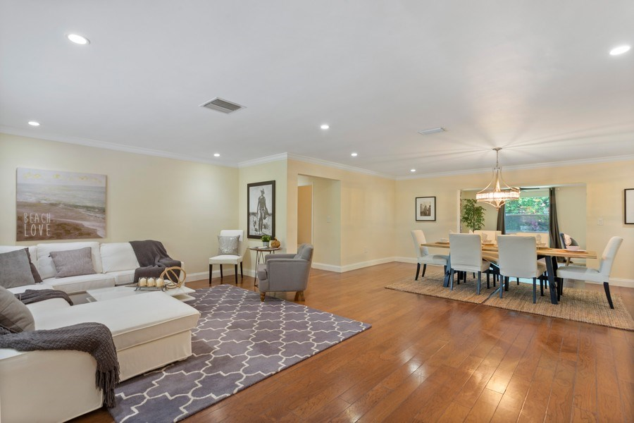 Real Estate Photography - 8600 SW 87th Ter, Miami, FL, 33143 - Family Room / Dining Room