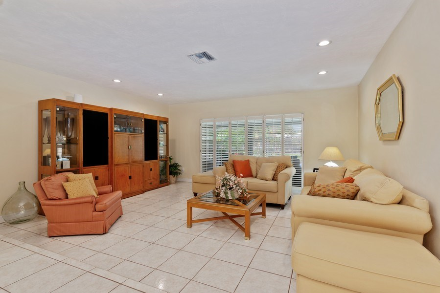 Real Estate Photography - 14300 SW 73rd Ave, Palmetto Bay, FL, 33158 - Living Room