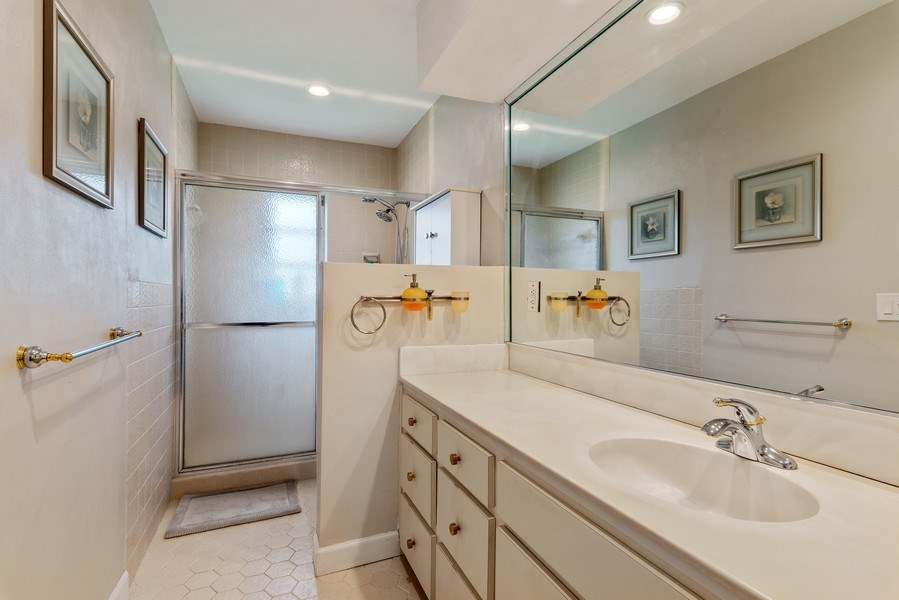 Real Estate Photography - 14300 SW 73rd Ave, Palmetto Bay, FL, 33158 - Master Bathroom