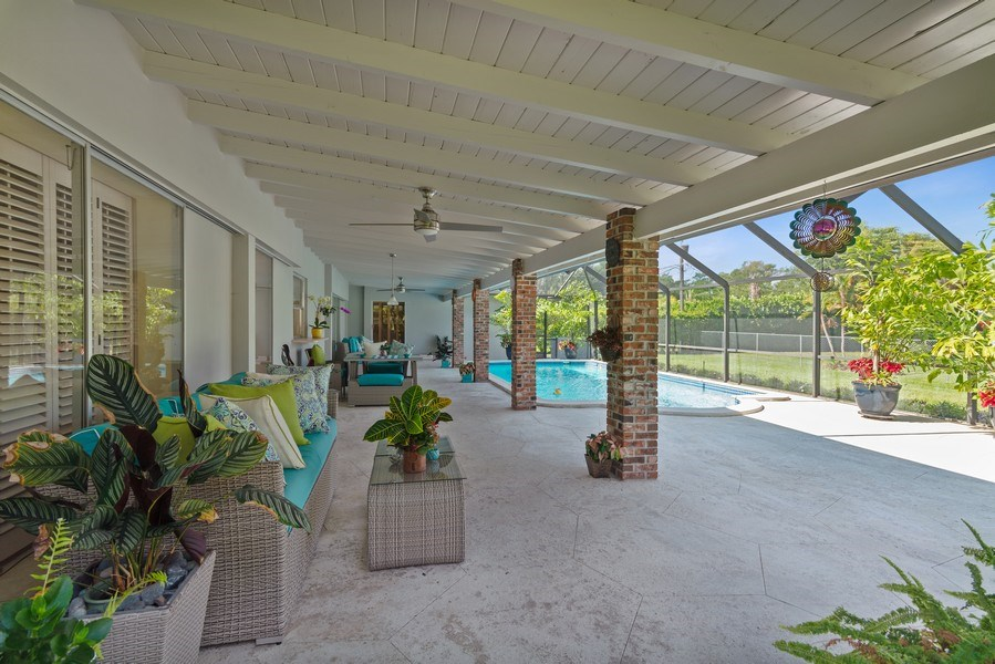 Real Estate Photography - 14300 SW 73rd Ave, Palmetto Bay, FL, 33158 - Terrace 2