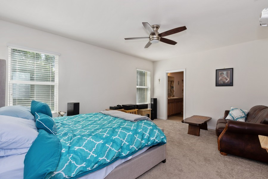 Real Estate Photography - 1405 SE 20th Pl, Cape Coral, FL, 33904 - Master Bedroom