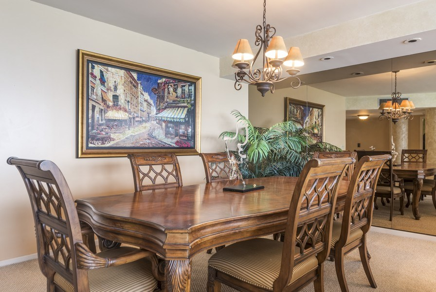 Real Estate Photography - 1500 S Ocean Blvd, S1503, Boca Raton, FL, 33432 - Dining Room