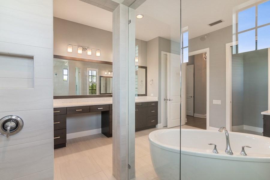Real Estate Photography - 5420 Greenbrook Drive, Sarasota, FL, 34238 - Master Bath