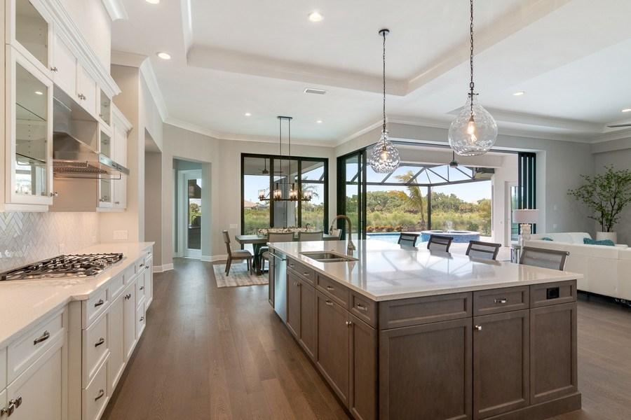 Real Estate Photography - 5420 Greenbrook Drive, Sarasota, FL, 34238 - Kitchen