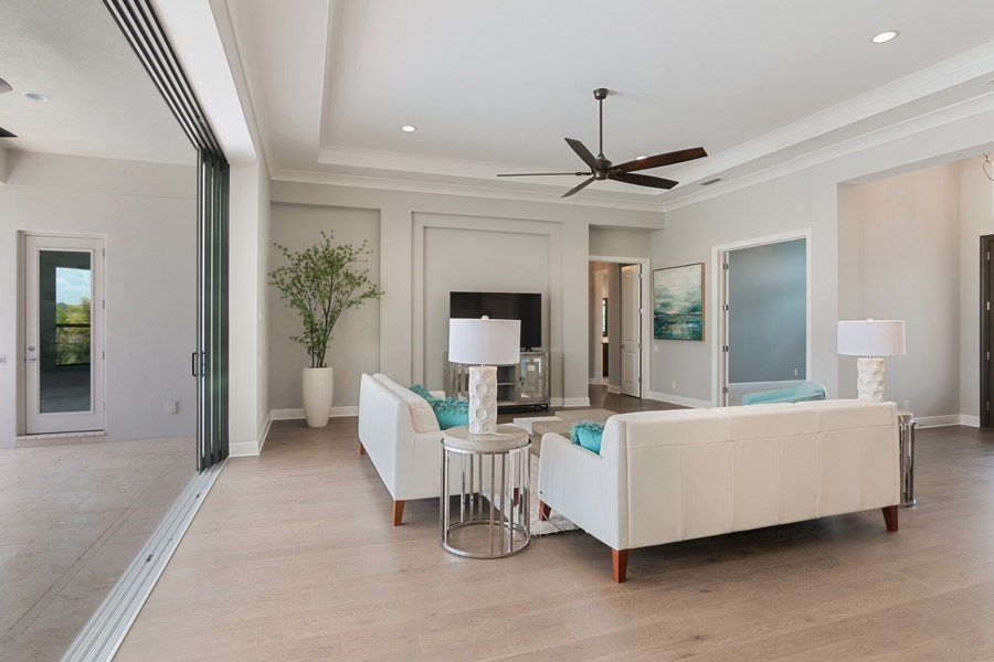 Real Estate Photography - 5420 Greenbrook Drive, Sarasota, FL, 34238 - Great Room