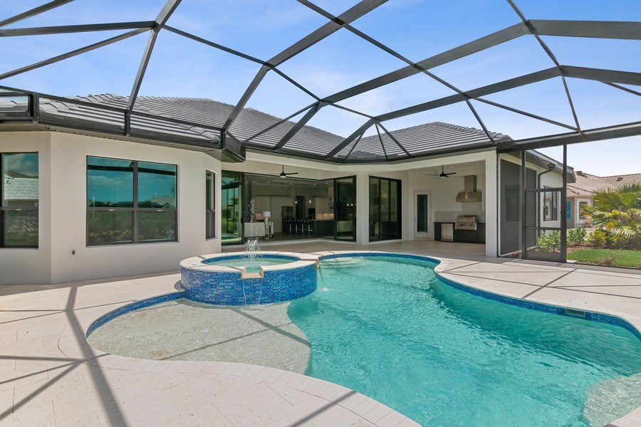 Real Estate Photography - 5420 Greenbrook Drive, Sarasota, FL, 34238 - Saltwater Pool and Spa