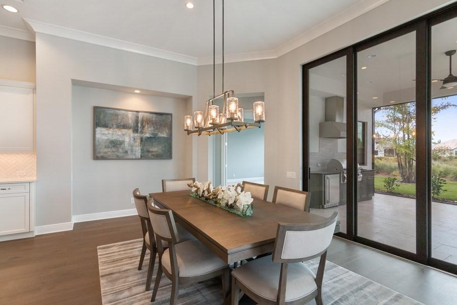 Real Estate Photography - 5420 Greenbrook Drive, Sarasota, FL, 34238 - Dining Area