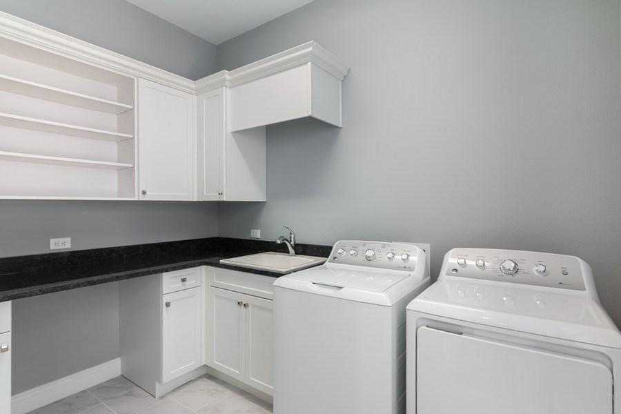Real Estate Photography - 5420 Greenbrook Drive, Sarasota, FL, 34238 - Laundry Room