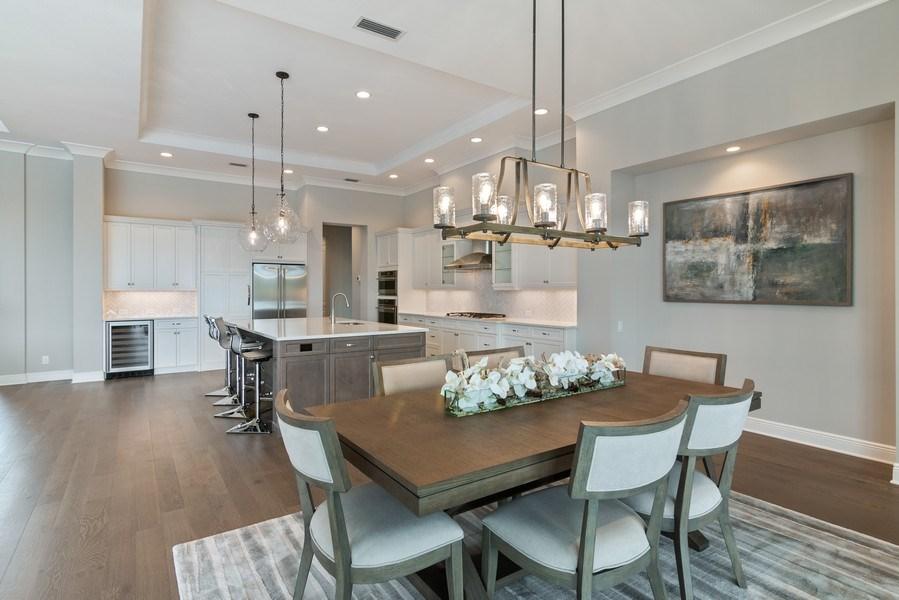 Real Estate Photography - 5420 Greenbrook Drive, Sarasota, FL, 34238 - Kitchen and Dining