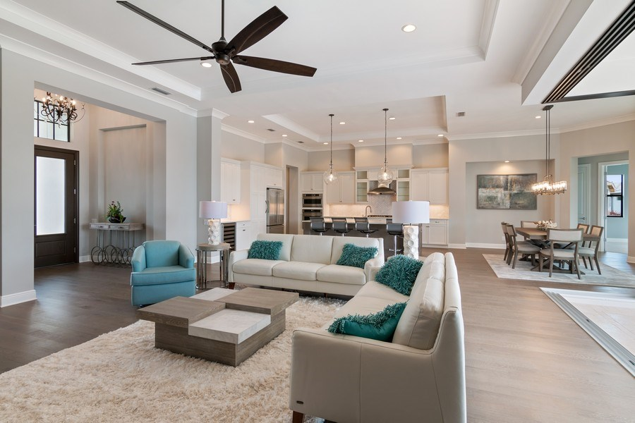 Real Estate Photography - 5420 Greenbrook Drive, Sarasota, FL, 34238 - Open Concept