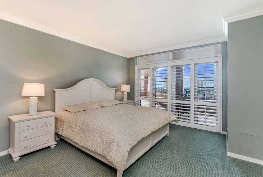 Real Estate Photography - 300 S.E. 5th Ave., #7050, Boca raton, FL, 33432 - Master Bedroom