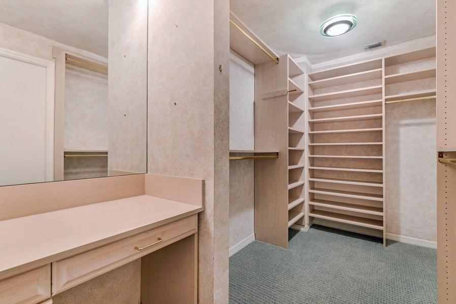 Real Estate Photography - 300 S.E. 5th Ave., #7050, Boca raton, FL, 33432 - Master Bedroom Closet