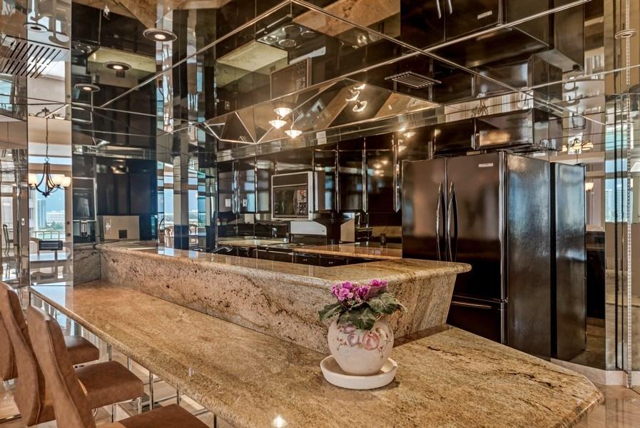 Real Estate Photography - 300 S.E. 5th Ave., #7050, Boca raton, FL, 33432 - Kitchen