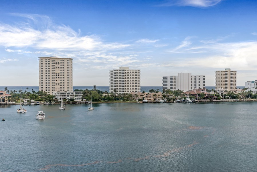 Real Estate Photography - 300 S.E. 5th Ave., #7050, Boca raton, FL, 33432 - Ocean View