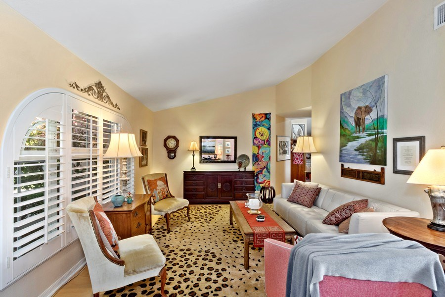 Real Estate Photography - 6520 Highland Pines Circle, Fort Myers, FL, 33966 - Living Room