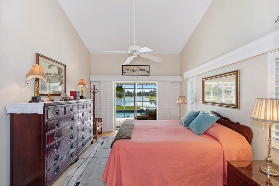 Real Estate Photography - 6520 Highland Pines Circle, Fort Myers, FL, 33966 - Master Bedroom