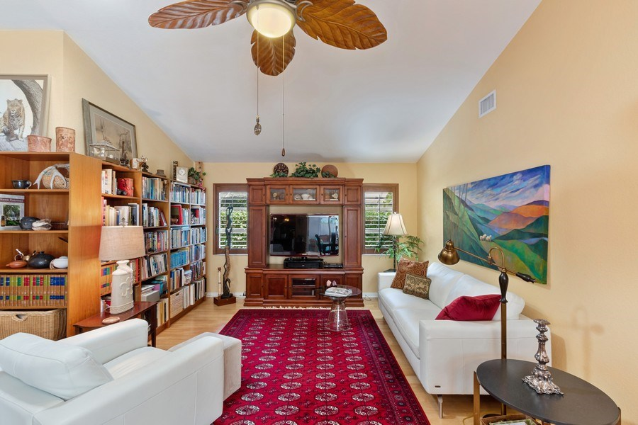Real Estate Photography - 6520 Highland Pines Circle, Fort Myers, FL, 33966 - Family Room
