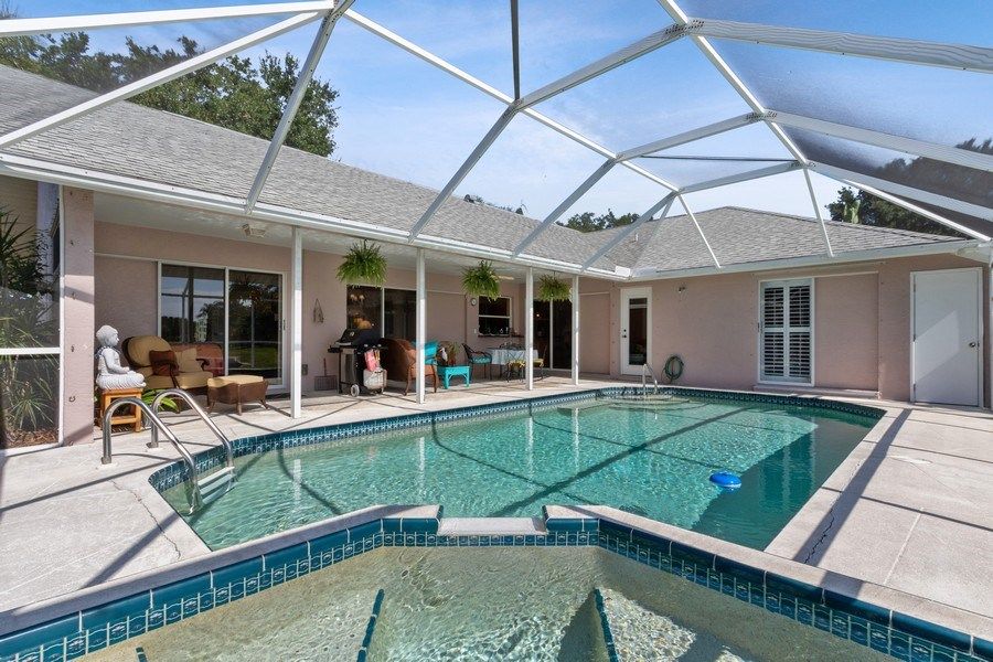 Real Estate Photography - 6520 Highland Pines Circle, Fort Myers, FL, 33966 - Pool/Spa