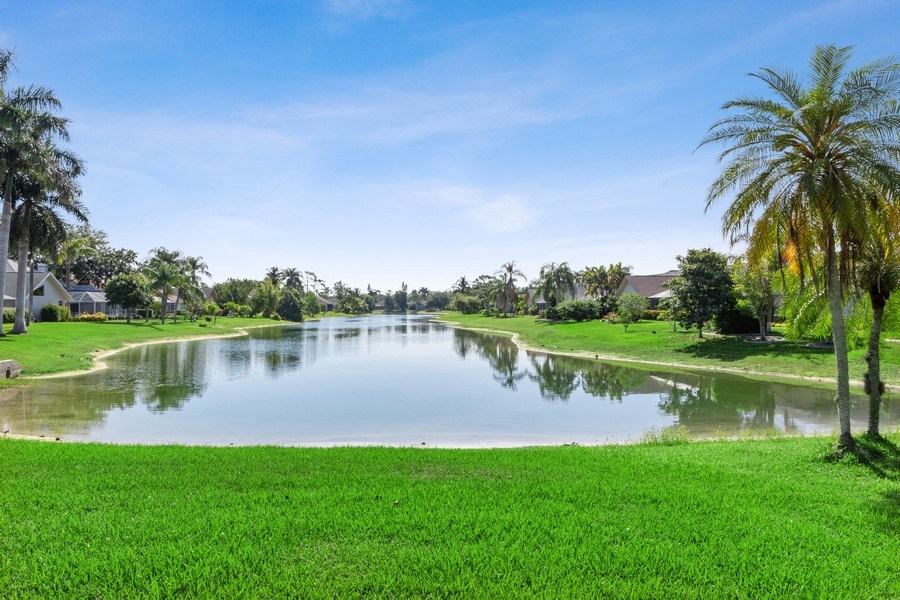 Real Estate Photography - 6520 Highland Pines Circle, Fort Myers, FL, 33966 - Lake View