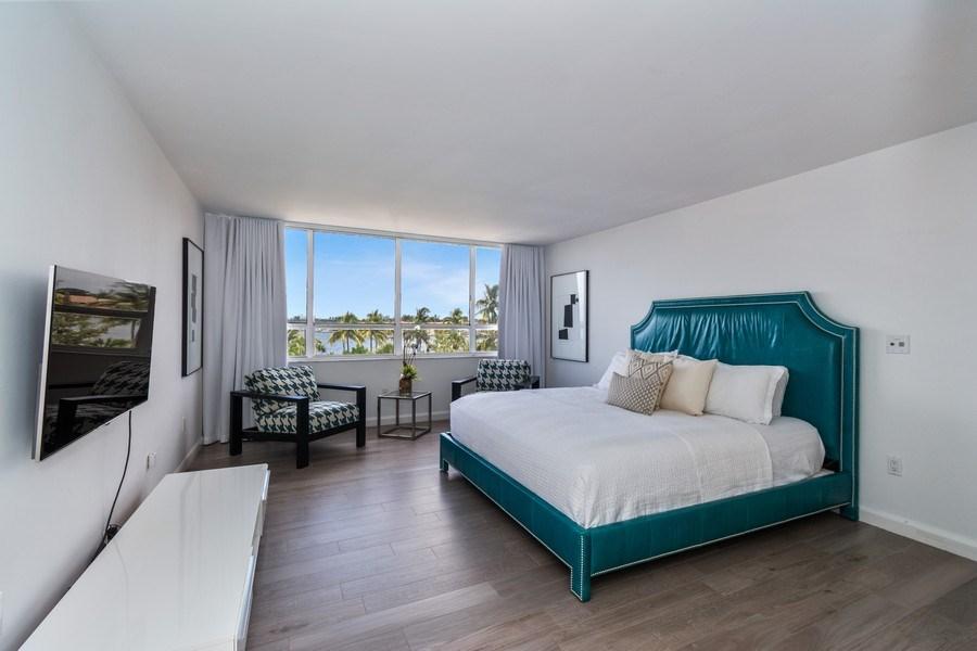 Real Estate Photography - 1 Grove Isle Dr, Unit# A306, Miami, FL, 33133 - Master Bedroom