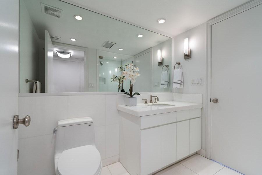 Real Estate Photography - 1 Grove Isle Dr, Unit# A306, Miami, FL, 33133 - Bathroom