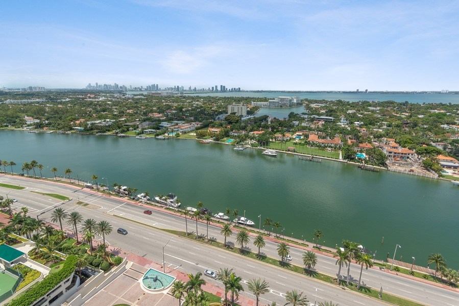 Real Estate Photography - 4779 Collins Ave, Unit 2406, Miami Beach, FL, 33140 - Canal View