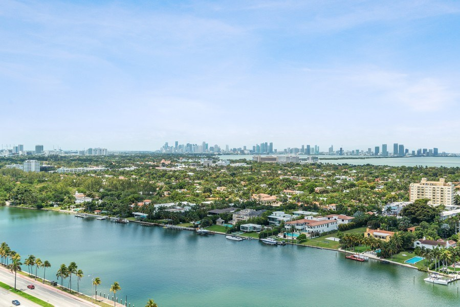 Real Estate Photography - 4779 Collins Ave, Unit 2406, Miami Beach, FL, 33140 - City View