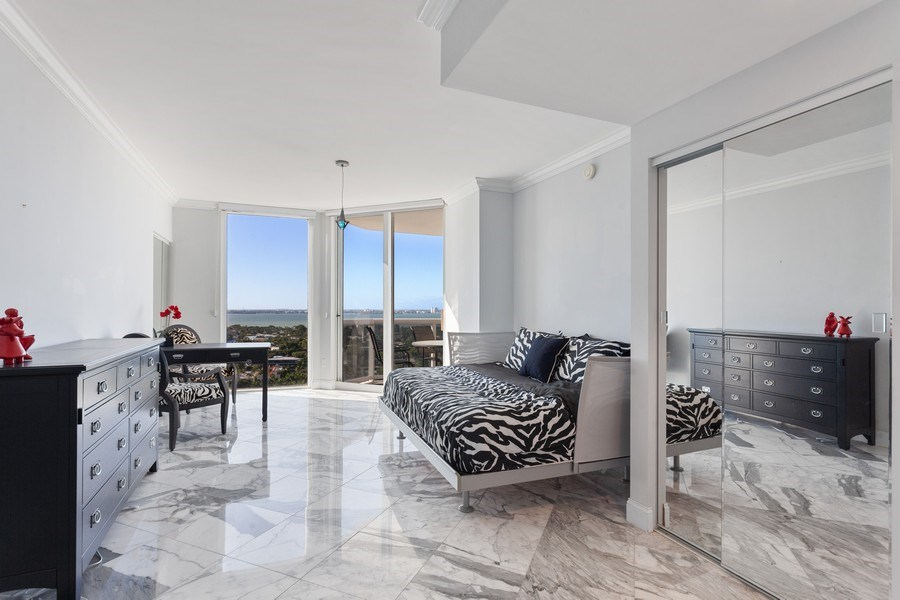 Real Estate Photography - 4779 Collins Ave, Unit 2406, Miami Beach, FL, 33140 - Master Bedroom