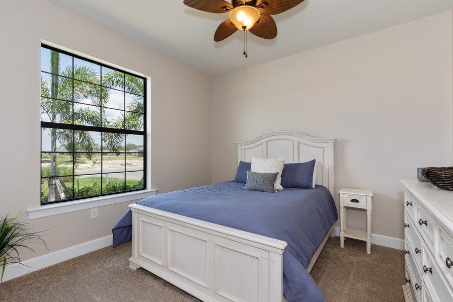 Real Estate Photography - 17454 Newberry Lane, Estero, FL, 33928 - 2nd Bedroom