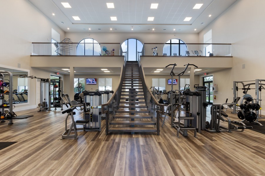 Real Estate Photography - 17454 Newberry Lane, Estero, FL, 33928 - Fitness Center