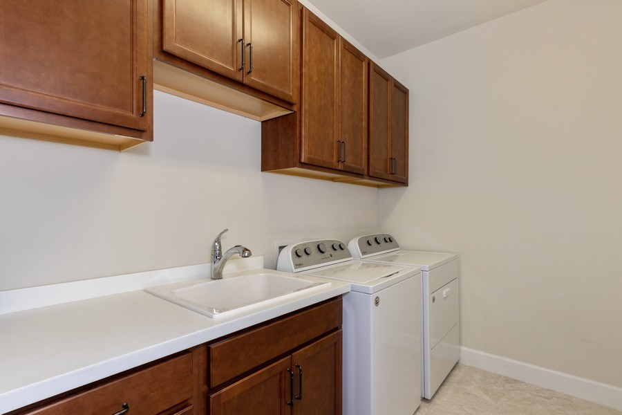 Real Estate Photography - 17454 Newberry Lane, Estero, FL, 33928 - Laundry Room