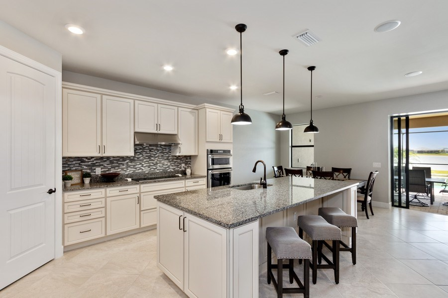 Real Estate Photography - 17454 Newberry Lane, Estero, FL, 33928 - Kitchen