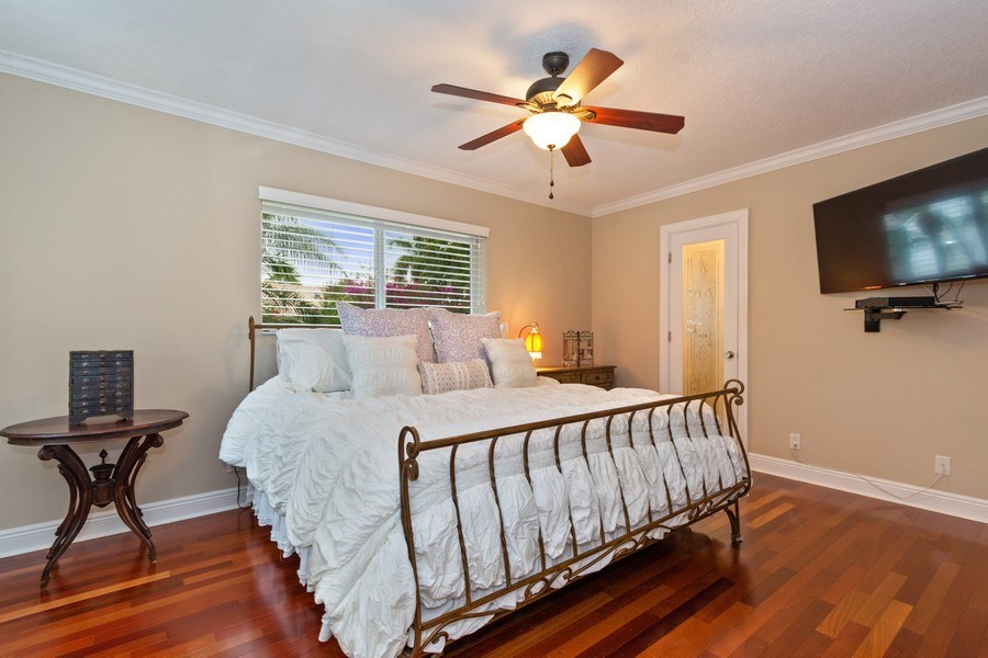 Real Estate Photography - 2617 NE 26th Ave, Fort Lauderdale, FL, 33306 - Master Bedroom