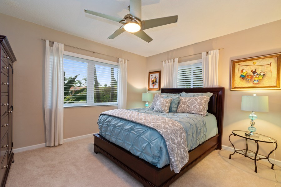 Real Estate Photography - 2617 NE 26th Ave, Fort Lauderdale, FL, 33306 - Guest Bedroom