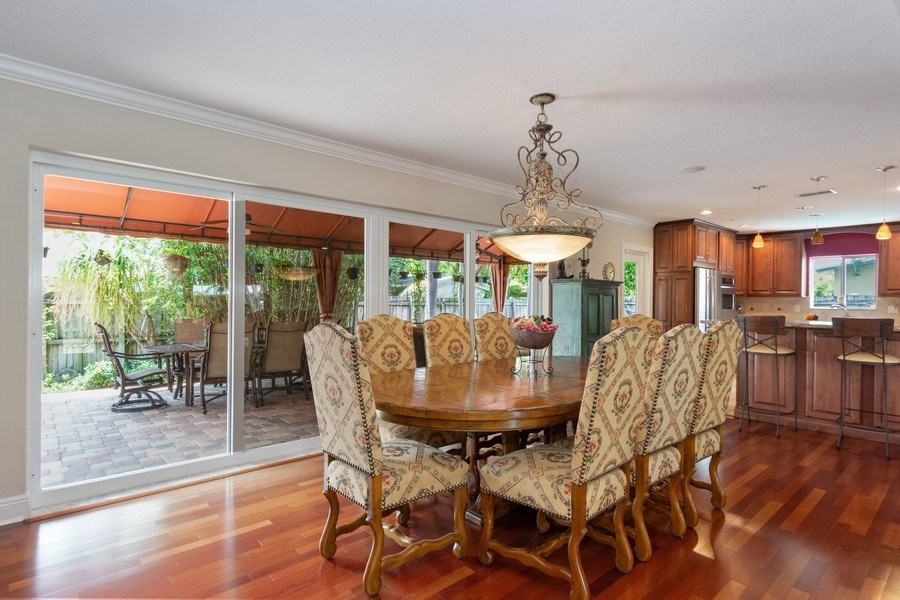 Real Estate Photography - 2617 NE 26th Ave, Fort Lauderdale, FL, 33306 - Dining Room