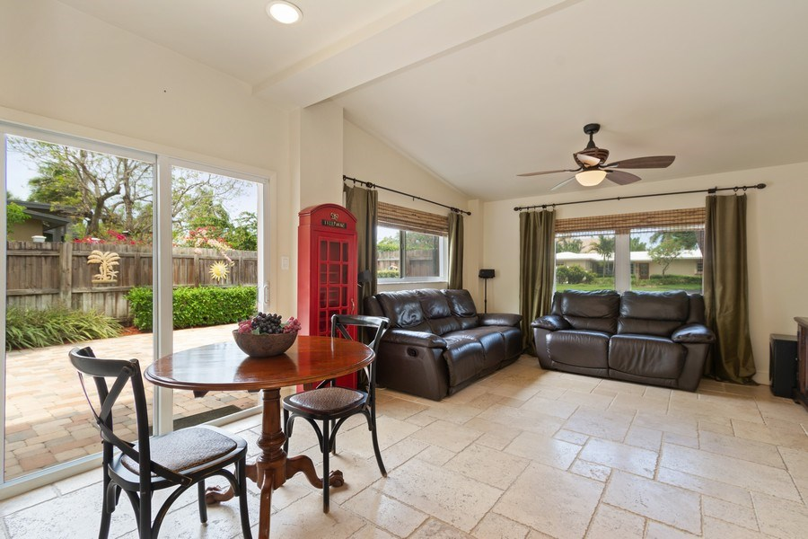 Real Estate Photography - 2617 NE 26th Ave, Fort Lauderdale, FL, 33306 - Family Room