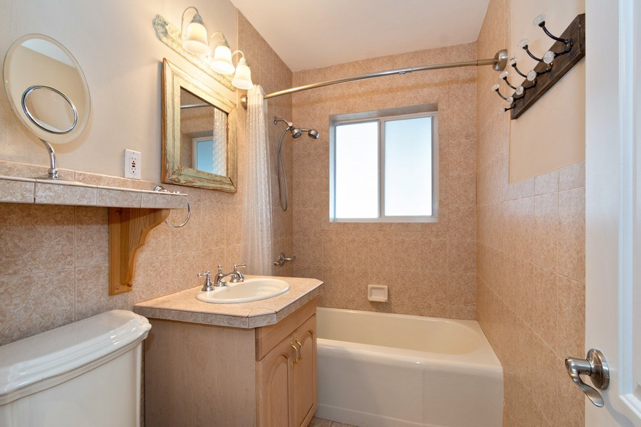 Real Estate Photography - 2617 NE 26th Ave, Fort Lauderdale, FL, 33306 - Guest Bathroom