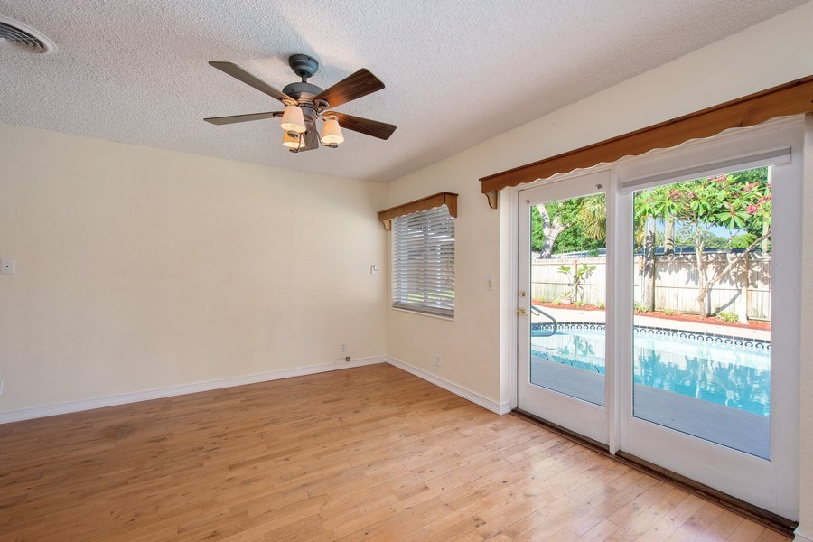Real Estate Photography - 4146 Indianapolis Street NE, St Petersburg, FL, 33703 - GREAT VIEW overlooking SWIMMING POOL!